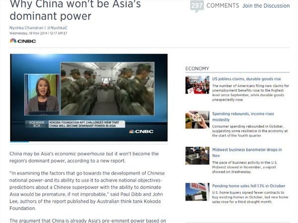 Tại sao Trung Quốc sẽ không có quyền lực thống trị châu Á? ảnh 1