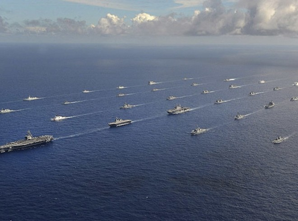Tàu chiến của Mỹ và 14 nước khác tập trận tại Thái Bình Dương
