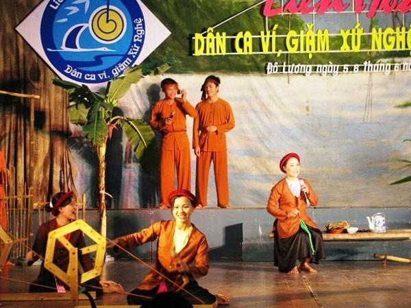 Dân ca ví, giặm Nghệ Tĩnh là di sản văn hóa phi vật thể thứ 9 của Việt Nam được UNESCO vinh danh