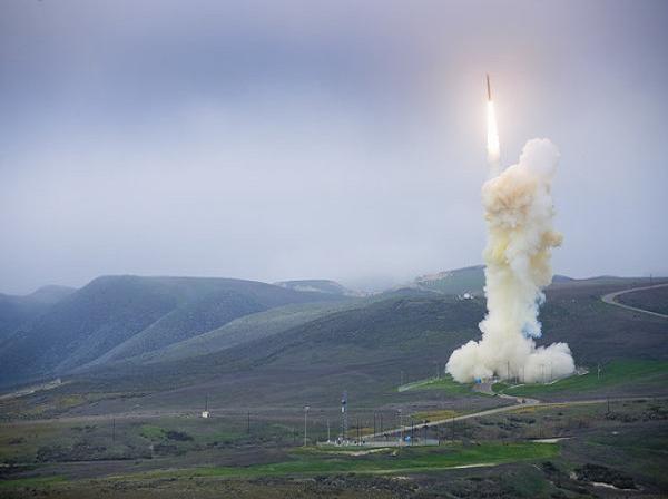 Một vụ thử hệ thống phòng thủ tên lửa mặt đất của Mỹ