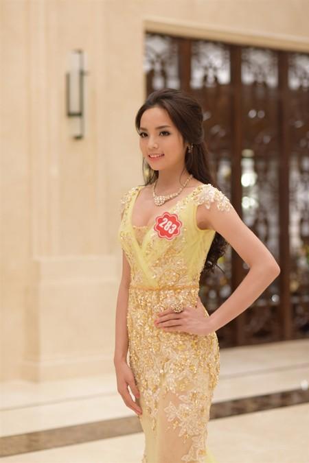 Thí sinh Hoa hậu Việt Nam 2014 lộng lẫy trong trang phục dạ hội ảnh 5