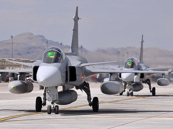 Máy bay chiến đấu Jas-39 Gripen do Thụy Điển phát triển