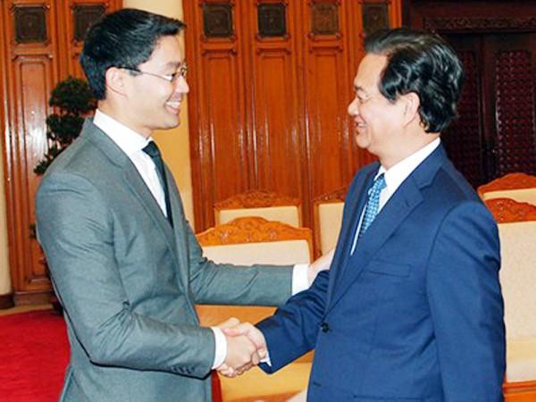 Thủ tướng Nguyễn Tấn Dũng tiếp ông Philipp Rosler, Giám đốc điều hành WEF