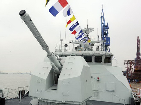 """Tàu hộ vệ """"Triều Châu"""" Type 056 của Hải quân Trung Quốc"""