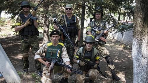 Binh lính Ukraine tham gia chiến dịch quân sự tại miền đông