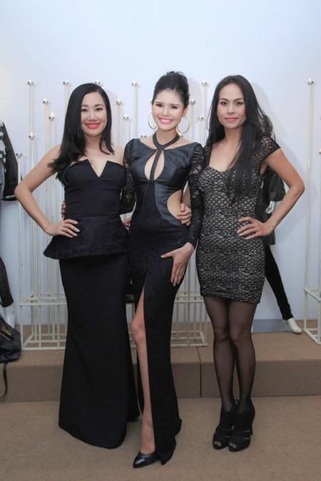 Người mẫu Kim Nguyên gợi cảm dự sinh nhật NTK Võ Việt Chung ảnh 5