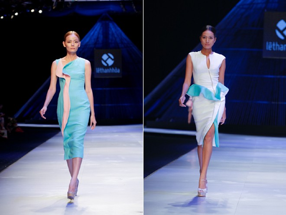 """BST """"Hoa"""" làm nóng sàn diễn Vietnam International Fashion Week ảnh 6"""