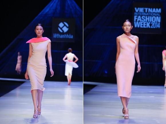 """BST """"Hoa"""" làm nóng sàn diễn Vietnam International Fashion Week ảnh 4"""