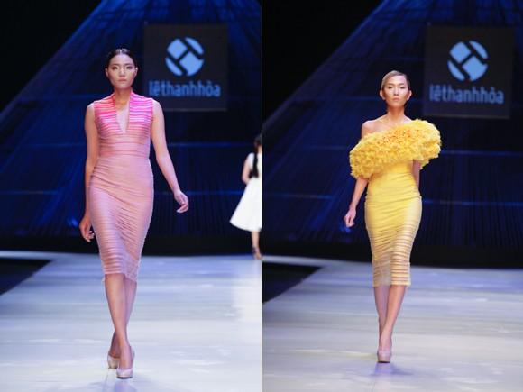 """BST """"Hoa"""" làm nóng sàn diễn Vietnam International Fashion Week ảnh 9"""