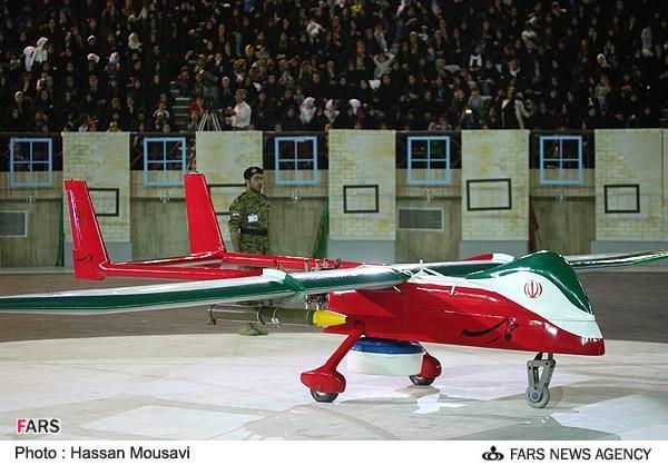 """Chiếc UAV mang tên """"Hamaseh"""" được Iran công bố tháng 5-2013"""