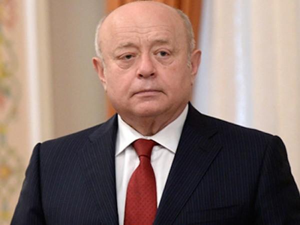 Mikhail Fradkov, người đứng đầu của Văn phòng tình báo nước ngoài (SVR)