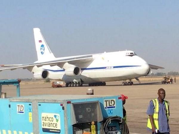 Chiếc máy bay vận tải Antonov của Nga bị bắt giữ tại Nigeria