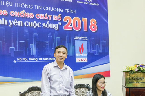 PGS, TS Lê Xuân Đình phát biểu trong chương trình