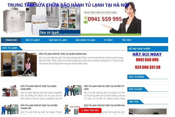10 địa chỉ sửa tủ lạnh uy tín nhất tại Hà Nội