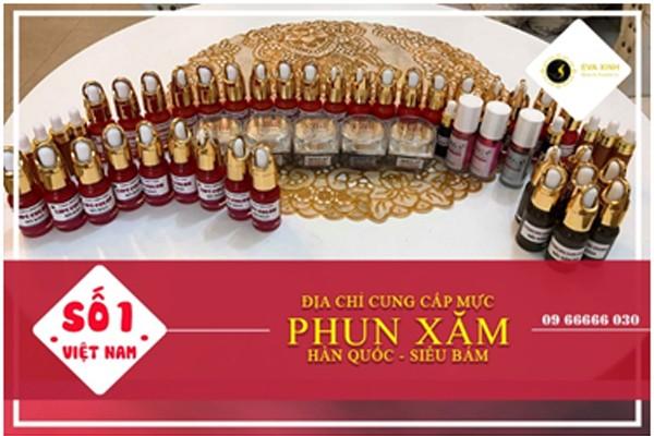 Địa chỉ cung cấp mực phun xăm thẩm mỹ Hàn Quốc siêu bám – Chất lượng hàng đầu tại Việt Nam ảnh 1