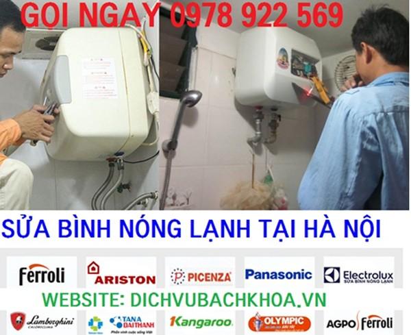 10 cửa hàng sửa bình nóng lạnh tốt nhất Hà Nội