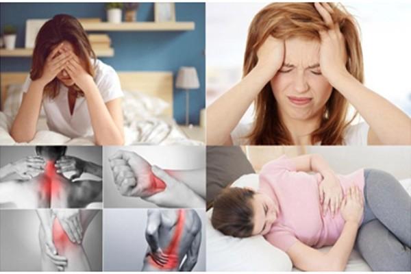 Đau nhức là triệu chứng phổ biến