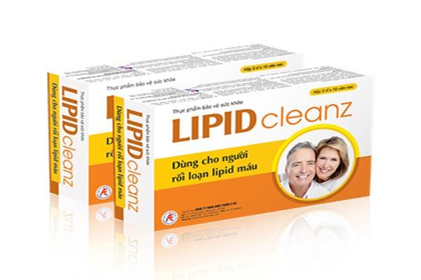 Thực phẩm bảo vệ sức khỏe Lipidcleanz