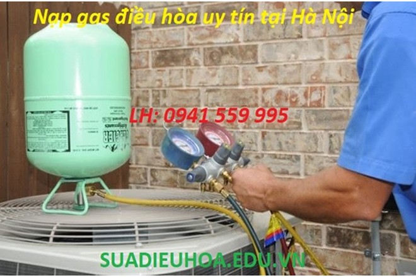 10 địa chỉ nạp gas điều hòa uy tín tại Hà Nội