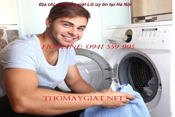 Địa chỉ sửa máy giặt LG uy tín tại Hà Nội