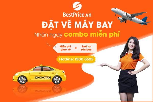Combo miễn phí giao vé + taxi sân bay tại BestPrice