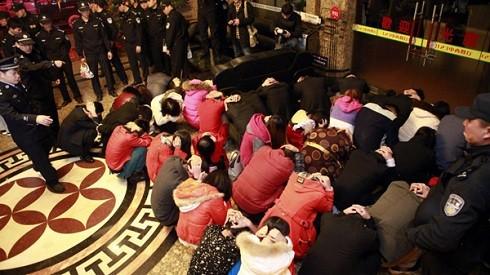 Trung Quốc đẩy mạnh truy quét mại dâm