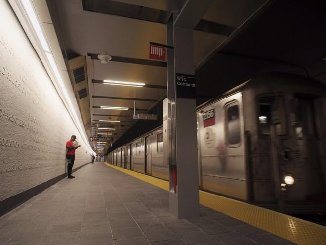 Nhà ga WTC Cortlandt được mở cửa vào hôm 8-9, 17 năm sau cuộc tấn công khủng bố 11-9-2001