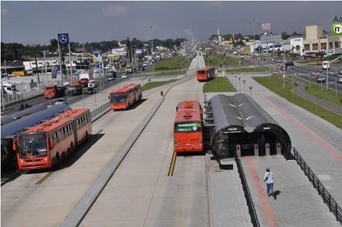 Thành phố Curitiba, Brazil là nơi khai sinh ra hệ thống BRT