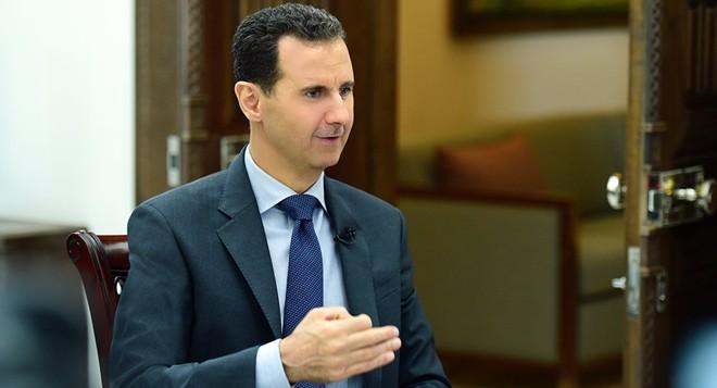 Tổng thống Syria Bashar al-Assad cũng hưởng lợi từ hành động này của Mỹ