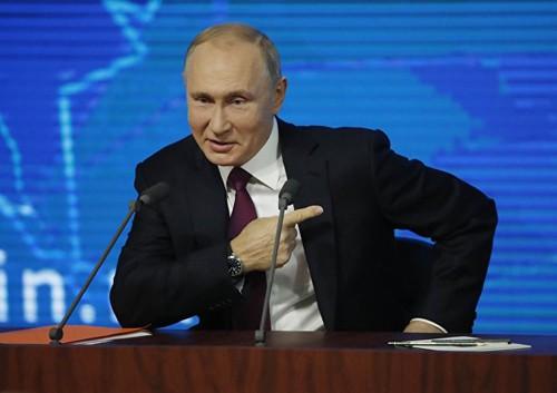 Tổng thống Nga Putin tán dương hành động của người đồng cấp Mỹ