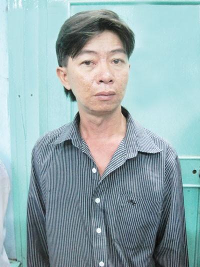 Hiệp - tên cầm đầu băng nhóm móc túi bị bắt giữ