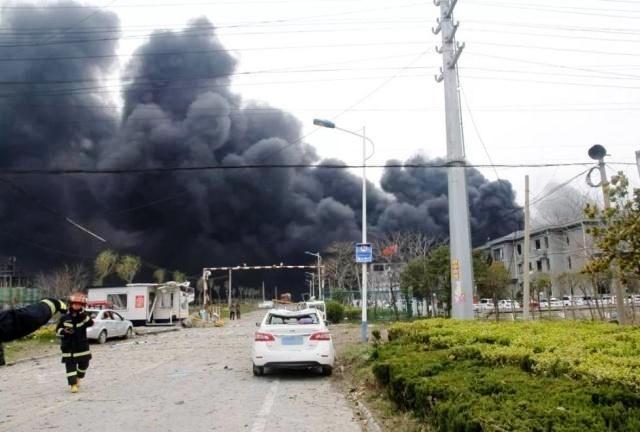Hiện trường vụ nổ khiến 44 người thiệt mạng
