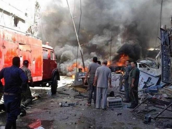 Vụ đánh bom liều chết nhằm vào trụ sở SAA