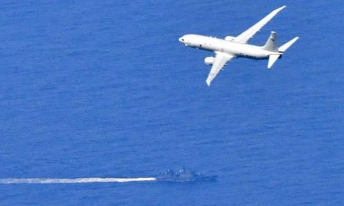 Máy bay Mỹ và tàu chiến Nhật tham gia tìm xác tiêm kích F-35A