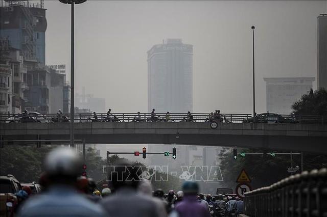 Mức độ ô nhiễm không khí ở Hà Nội đang ngày càng nghiêm trọng