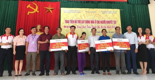 4 hộ gia đình nghèo tại huyện Bà Chẽ, Quảng Ninh được hỗ trợ chi phí xây dựng nhà cửa