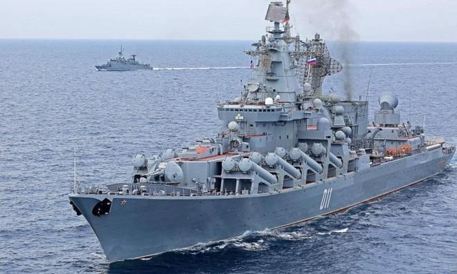 Hải quân Nga và Thái Lan diễn tập chung hồi cuối tháng 10