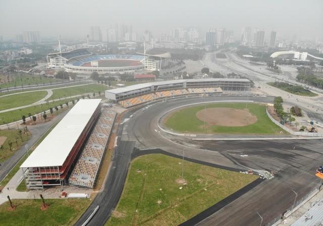 Hà Nội chính thức hoãn chặng đua F1
