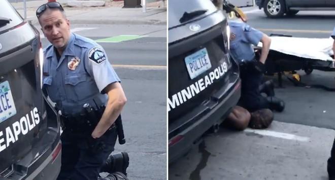 Cựu sỹ quan cảnh sát Derek Chauvin là người trực tiếp gây ra cái chết của George Floyd sau khi dùng chân ghì lên cổ nạn nhân trong nhiều phút