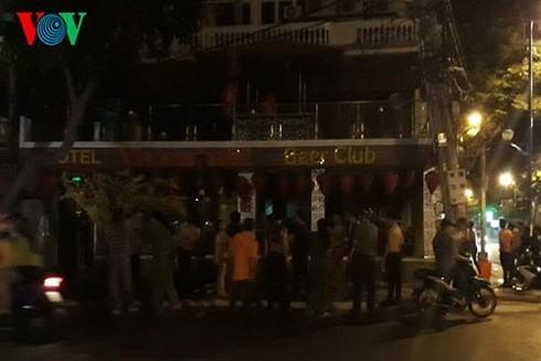 Hiện trường vụ cháy quán Beer Club Vitamin C2 – Vũng Tàu