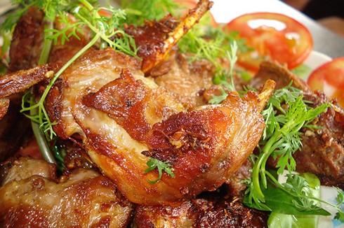 Món thịt chuột khìa nước dừa. Ảnh: Nấu ngon.