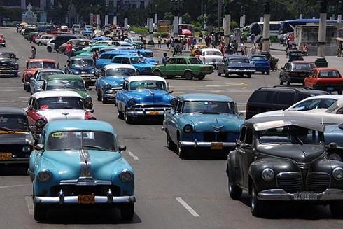 """[ẢNH] """"Bảo tàng"""" xe cổ không nơi nào có ngoài Cuba ảnh 1"""