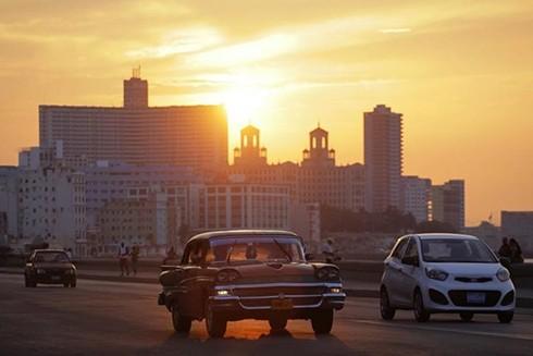 """[ẢNH] """"Bảo tàng"""" xe cổ không nơi nào có ngoài Cuba ảnh 17"""
