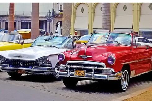 """[ẢNH] """"Bảo tàng"""" xe cổ không nơi nào có ngoài Cuba ảnh 2"""