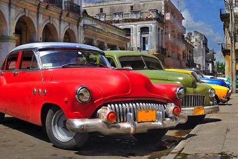 """[ẢNH] """"Bảo tàng"""" xe cổ không nơi nào có ngoài Cuba ảnh 3"""