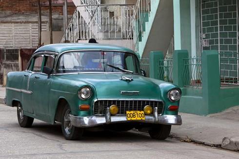 """[ẢNH] """"Bảo tàng"""" xe cổ không nơi nào có ngoài Cuba ảnh 5"""