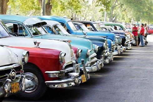 """[ẢNH] """"Bảo tàng"""" xe cổ không nơi nào có ngoài Cuba ảnh 6"""