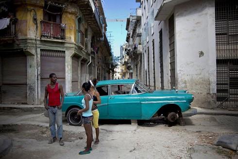 """[ẢNH] """"Bảo tàng"""" xe cổ không nơi nào có ngoài Cuba ảnh 8"""