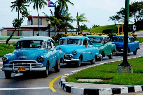 """[ẢNH] """"Bảo tàng"""" xe cổ không nơi nào có ngoài Cuba ảnh 9"""