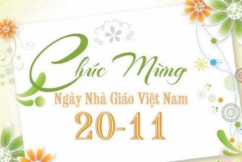 Ngày 20-11 là cơ hội để học trò thể hiện lòng biết ơn tới thầy cô